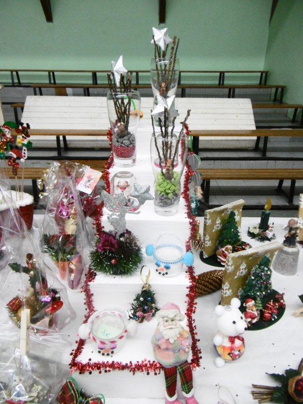 Mon expo au marché de Noel d' Emerchicourt