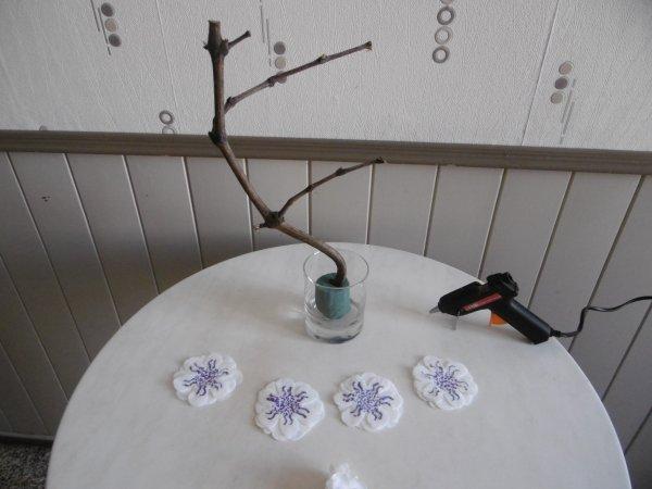 Un centre de table élégant et naturel. .