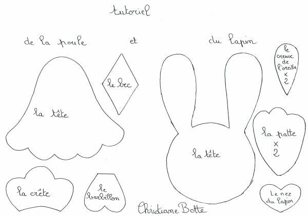 Suite 2 ème article Panier Lapin