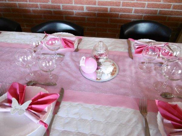 Suite de la décoration de la communion et du Baptême