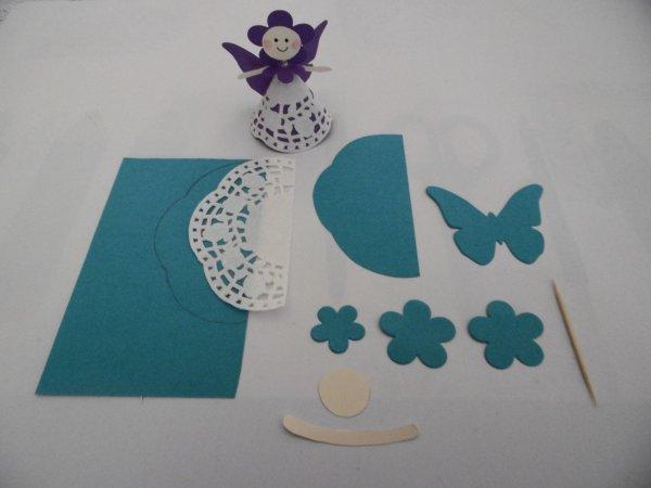 Les fées des fleurs en dentelle de papier