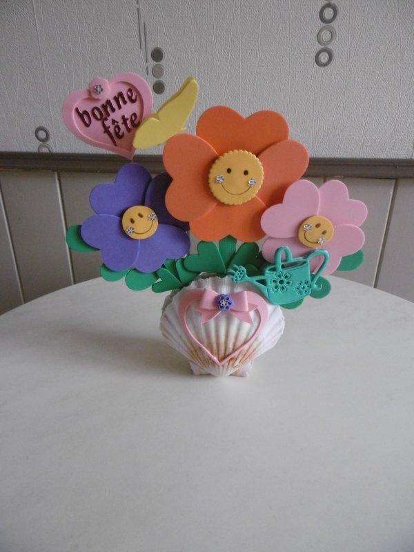 Les fleurs du sourire pour la fête des Mères .