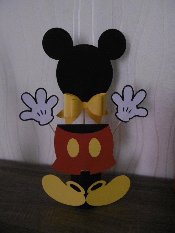 Créations pour un baptême Thème Mickey