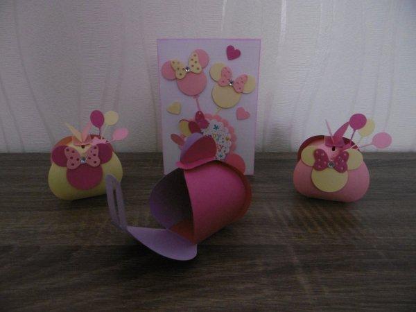 Cartes Anniversaire et contenants pour bonbons