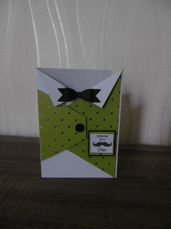 Cartes pour la fête des papounets