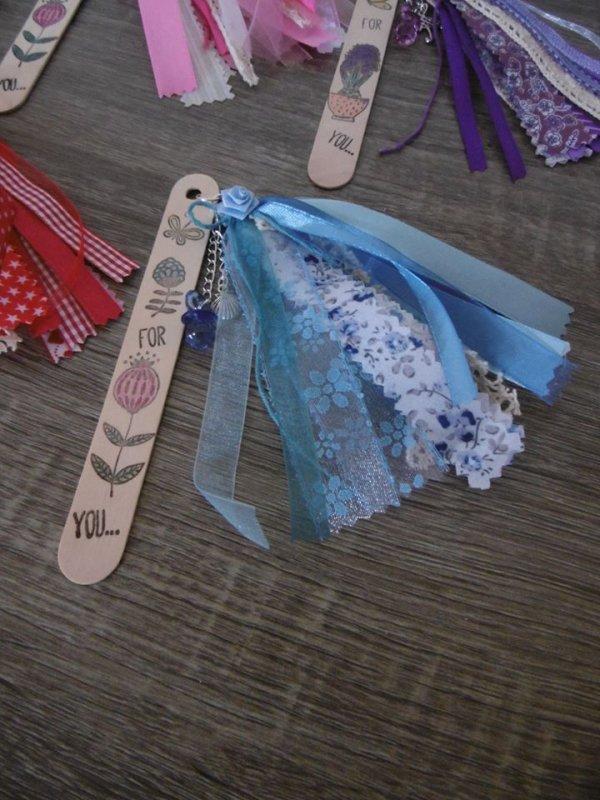 Marque-pages bâtonnet en bois