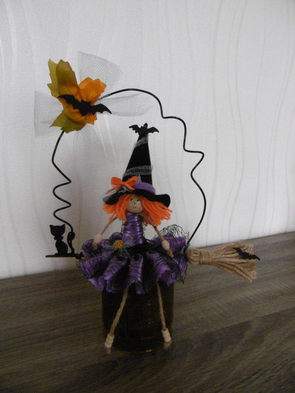 Des petites sorcières pour halloween