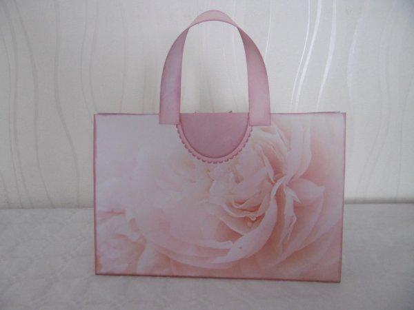 Pochette cadeau forme sac à main