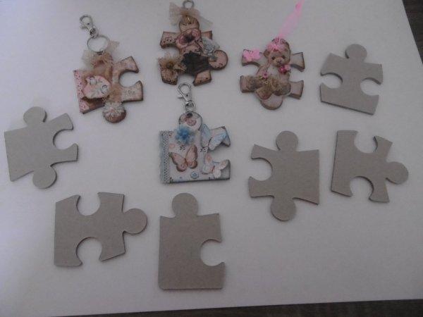 Piéces de puzzle altérées .