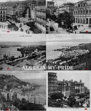 Un petit montage sur l'ancienne Alger (la capital)