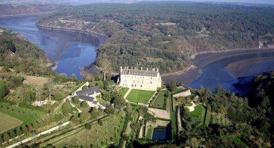 Au Château de la Roche Jagu !