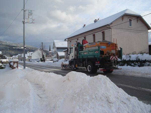 Déneigement 2010-2011 --> --> Commune