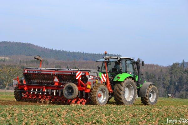 Semis d'Orge 2012 --> --> Deutz-Fahr Agrotron M620