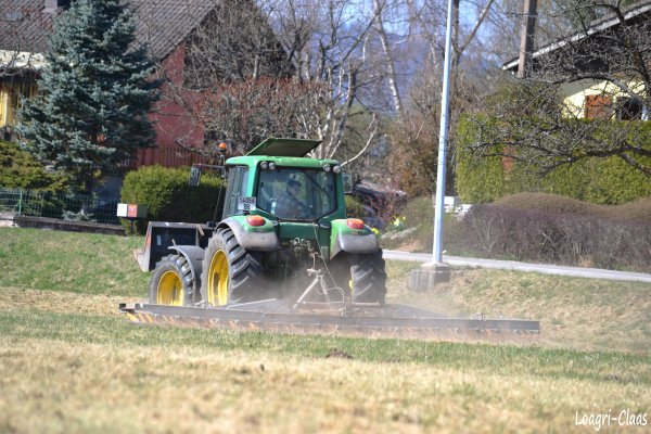 Hersage de Prairies 2012 --> --> John Deere 6220