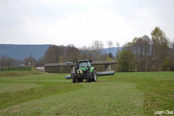 Hersage de Prairies 2012 --> --> Deutz-Fahr Agrotron K420 ProfiLine