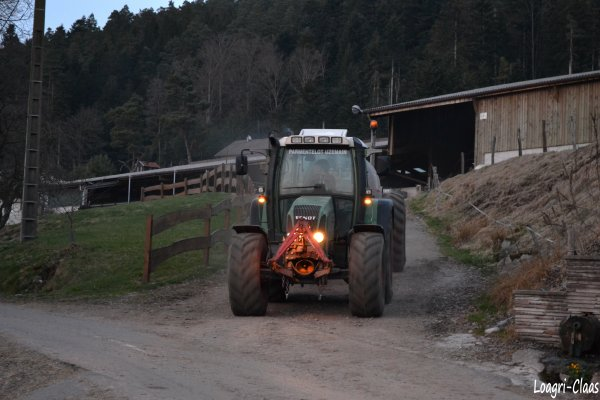 Épandage de Lisier 2012 --> --> Fendt Farmer 412 Vario