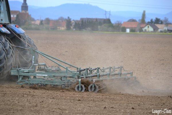 Préparations des Terres 2012 --> --> Landini Legend 115 Top Jumelés Arrières