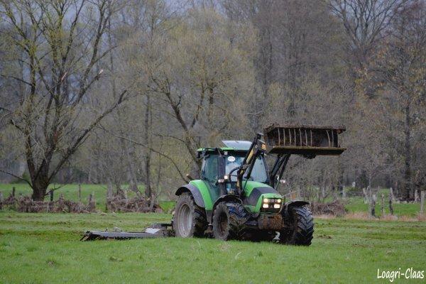 Hersage de Prairies 2012 --> --> Deutz-Fahr Agrotron K90