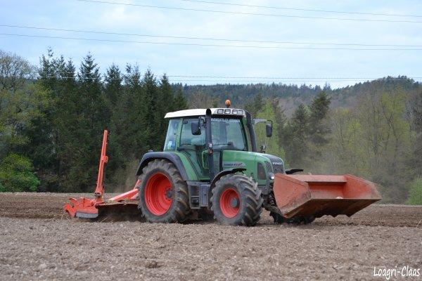 Préparations des Terres 2012 --> --> Fendt Farmer 412 Vario