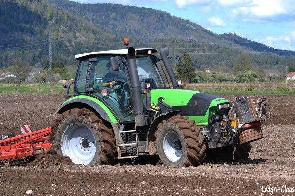Préparations des Terres 2012 --> --> Deutz-Fahr Agrotron M600