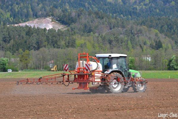 Pulvérisation 2012 --> --> Deutz-Fahr AgroPlus 67