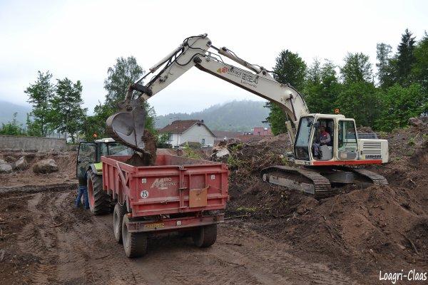 Terrassement 2012  --> --> Claas Arès 836 Rz
