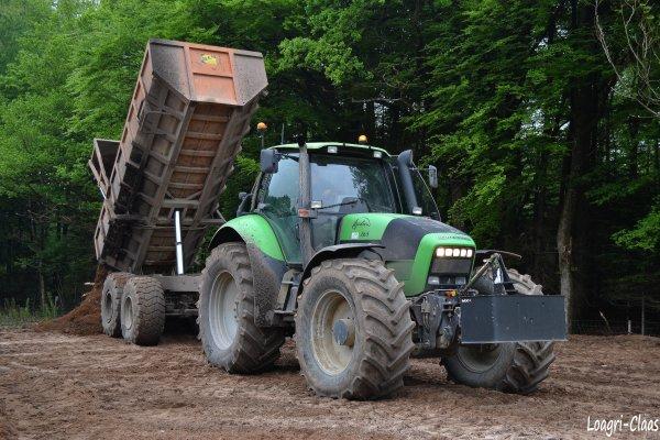 Terrassement --> --> Deutz-Fahr Agrotron 265