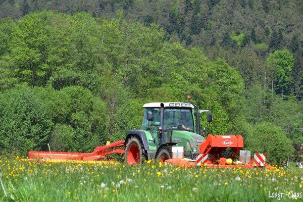 Fauchage 2012 --> --> Fendt Farmer 412 Vario