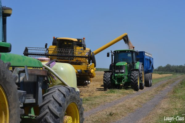 Moisson 2012 --> --> New-Holland TC56