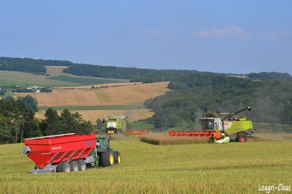 Moisson 2012 - Big Harvest --> --> Claas Lexion 770 TT & 1050 Vario !!!