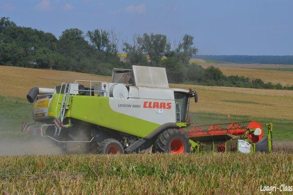 Moisson 2012  --> --> Claas Lexion 580
