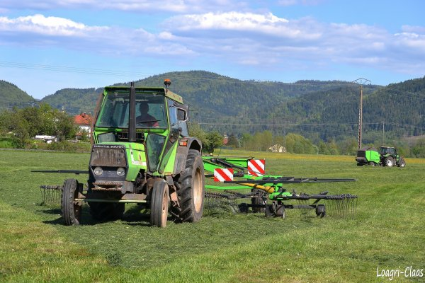 Andainage 2012 --> --> Deutz-Fahr DX 4.10