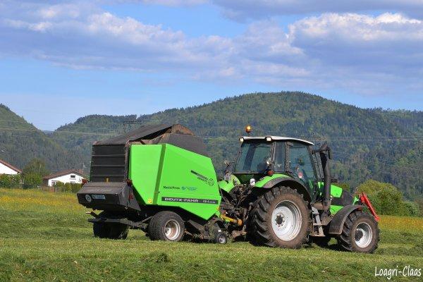 Pressage 2012 --> --> Deutz-Fahr Agrotron M600
