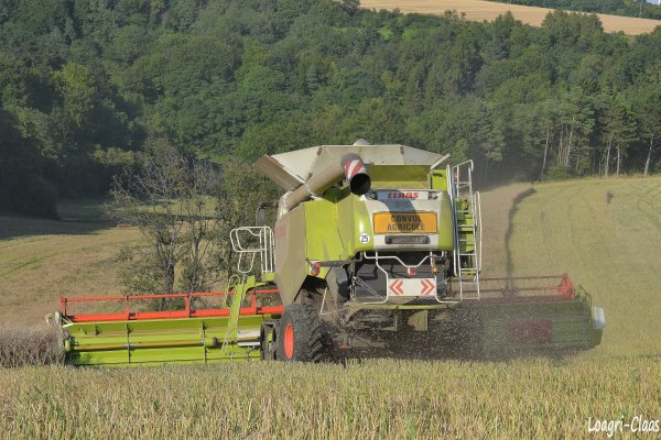 Moisson 2012 - Big Harvest --> --> Claas Lexion 770 TT & 1200 Vario !!!