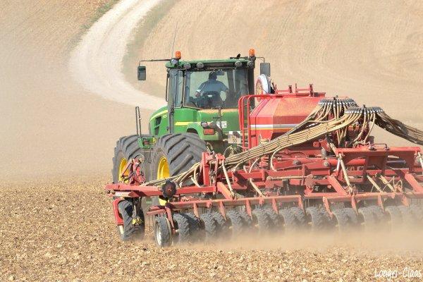 Semis de Colza 2012 --> --> BIG John Deere 9530 & Horsh 9CO
