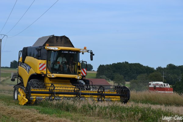 Moisson 2012 --> --> New-Holland CX 760
