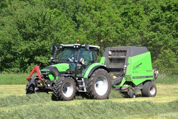 Pressage 2012 --> --> Deutz-Fahr Agrotron K420 Profiline