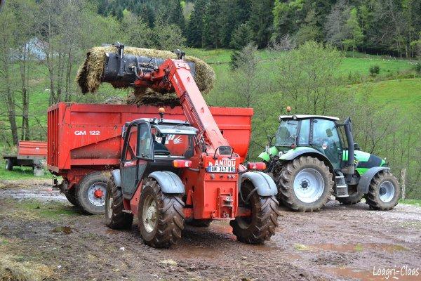 Mise de Benne en Dépôt 2012 --> --> Deutz-Fahr Agrotron M600