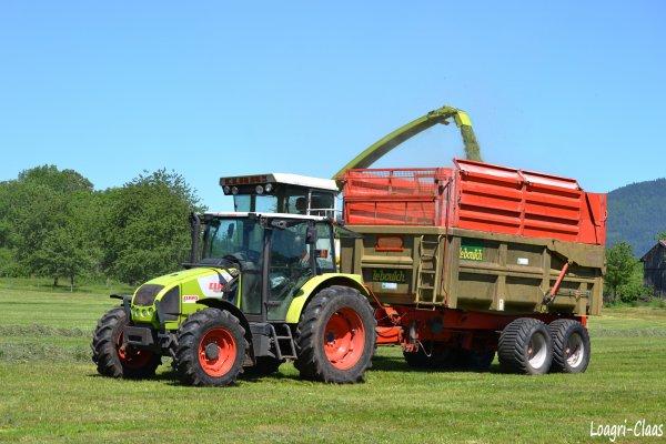 Ensilage d'Herbe  2012 --> --> Claas Jaguar 800  & Claas Celtis 436 rc