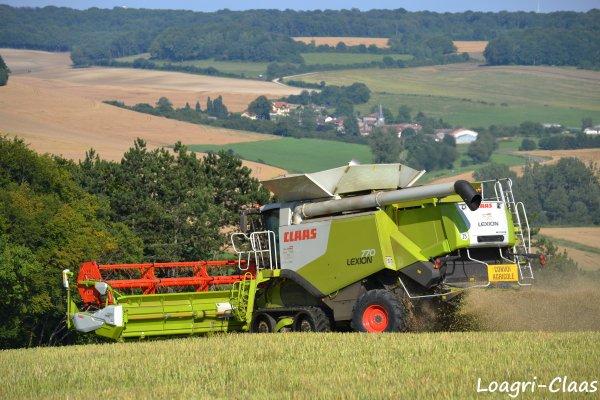 Moisson - Big Harvest --> --> Claas Lexion 770 Terra Trac X 2 !!!