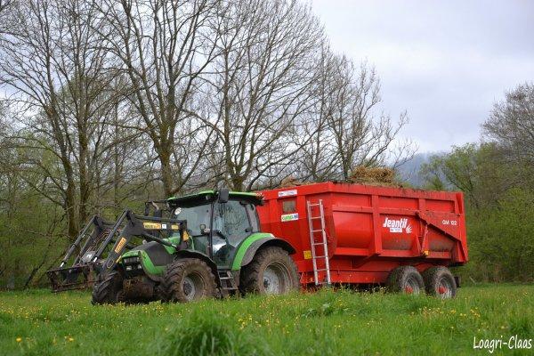 Mise de Benne en Dépôt 2012 --> --> Deutz-Fahr Agrotron K90
