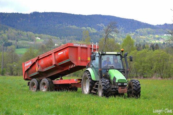 Mise de Benne en Dépôt 2012 --> --> Deutz-Fahr AGrotron 85 Mk3