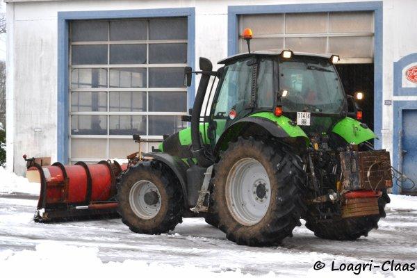 Déneigement 2012 --> --> Deutz-Fahr AGrotron M600