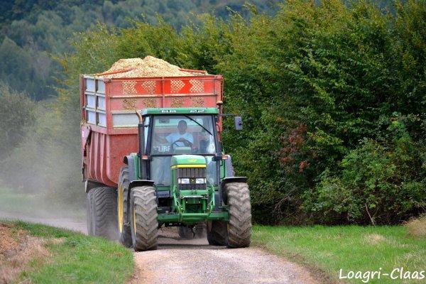 Ensilage de Maïs 2012 --> --> Claas Jaguar 850