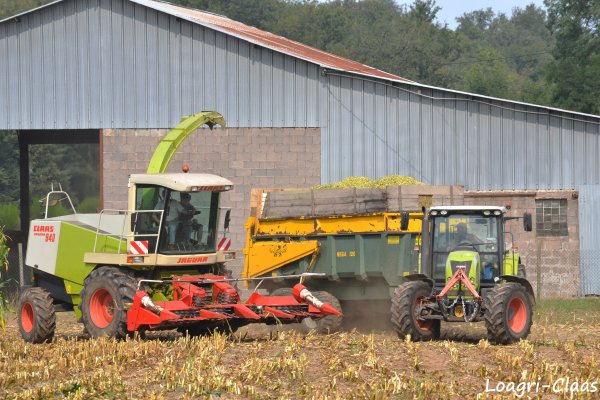 Ensilage de Maïs 2012 --> --> Claas Jaguar 840 [ Part II ]