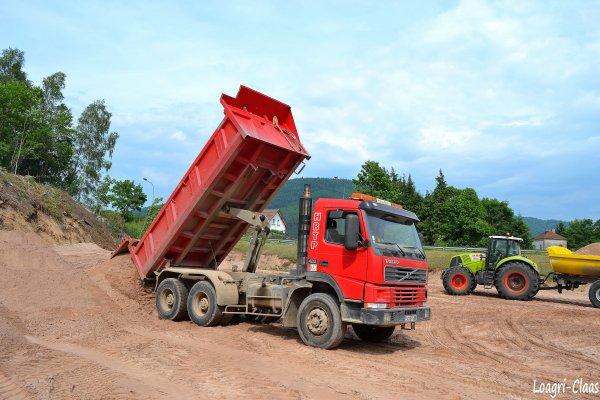 Terrassement 2012 --> --> Camion Volvo FM12