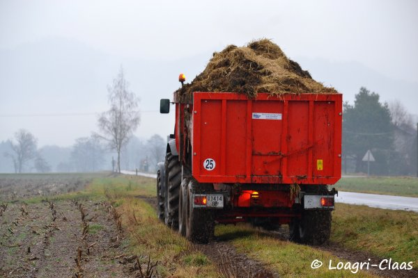 Transport de Fumier 2013 --> --> Deutz-Fahr Agrotron M600