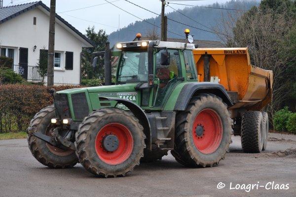 Terrassement 2013 --> --> Fendt 930 Vario, Fendt 818 Favorit, John Deere  & Camion Man x2 !