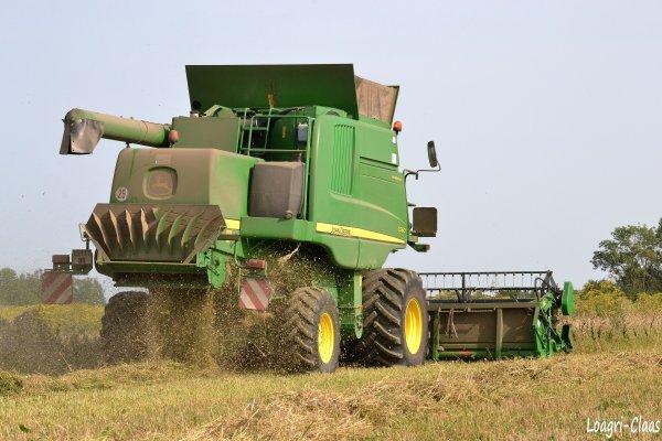 Moisson Du Blé BIO 2012 --> --> John Deere T560