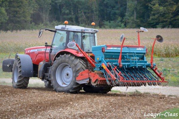 Semis de Colza 2012 --> --> Massey-Ferguson 6480 Dyna-6